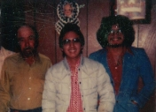 RIchard LaFuente, his father, and brother-in-law Jaun