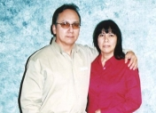 Richard LaFuente and sister Patty Sepulveda